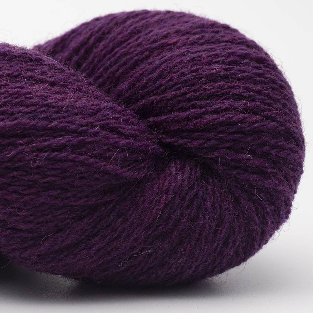 BC Garn Bio Shetland GOTS zertifiziert Dunkellila