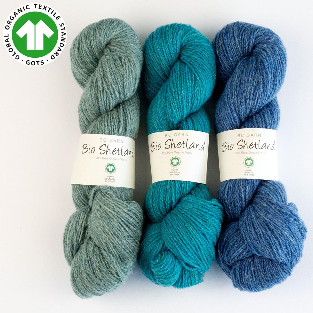 BC Garn Bio Shetland GOTS zertifiziert  Wollweiß