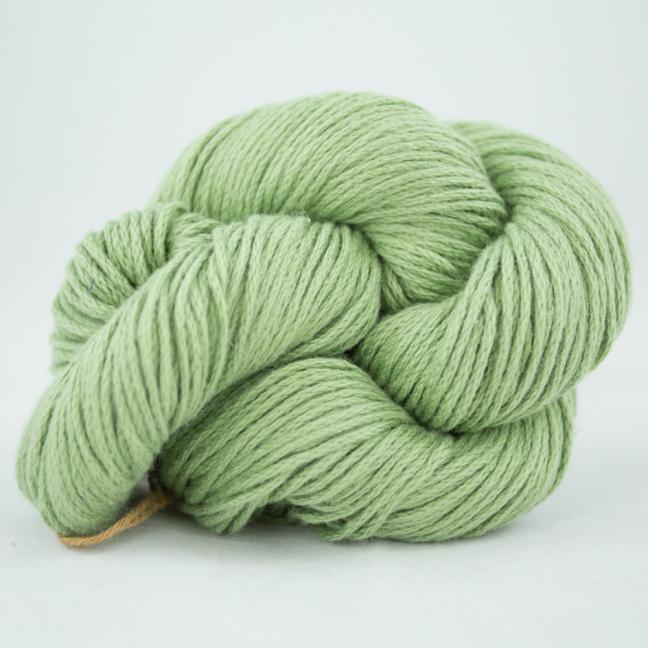 Kremke Soul Wool Pakucho Cotton Cablé Grande Verde Spring