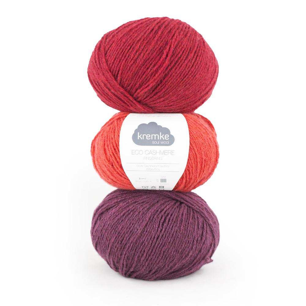 Kremke Soul Wool Eco Cashmere Fingering 50g
