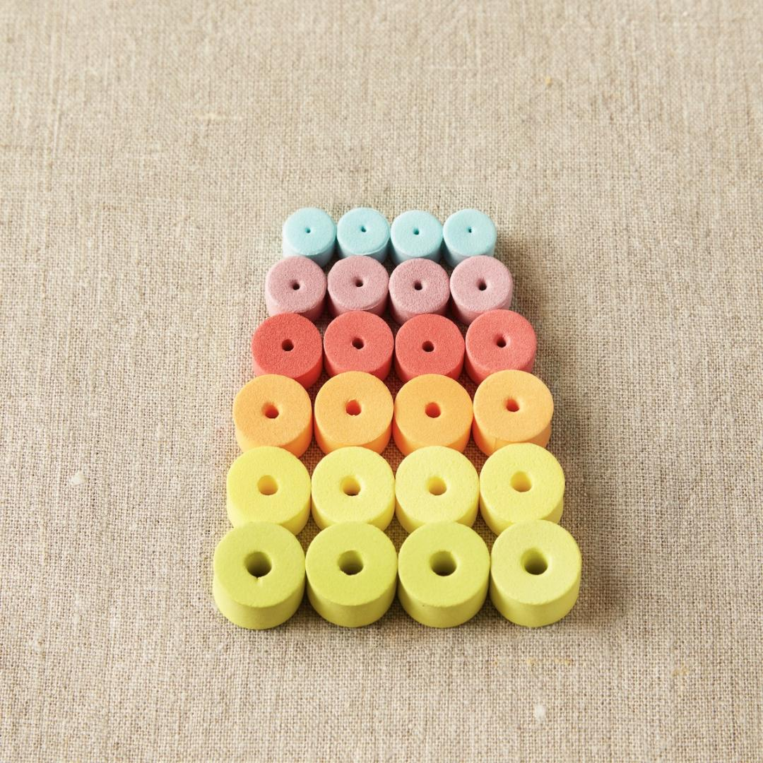 CocoKnits Mixed Stitch Stoppers  Maschenstopper colorful