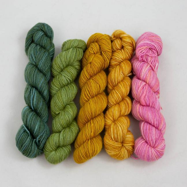 Manos del Uruguay Silk Blend Fino Minis Dorothea