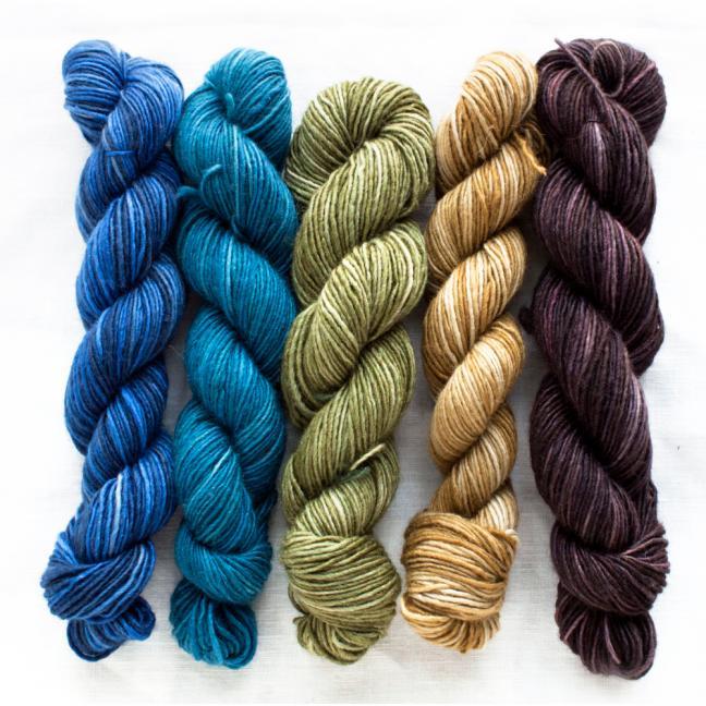 Manos del Uruguay Silk Blend Fino Minis Georgiana