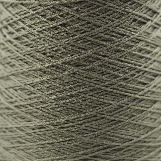 BC Garn Luxor mercerized Cotton 8/2 200g Kone Olive