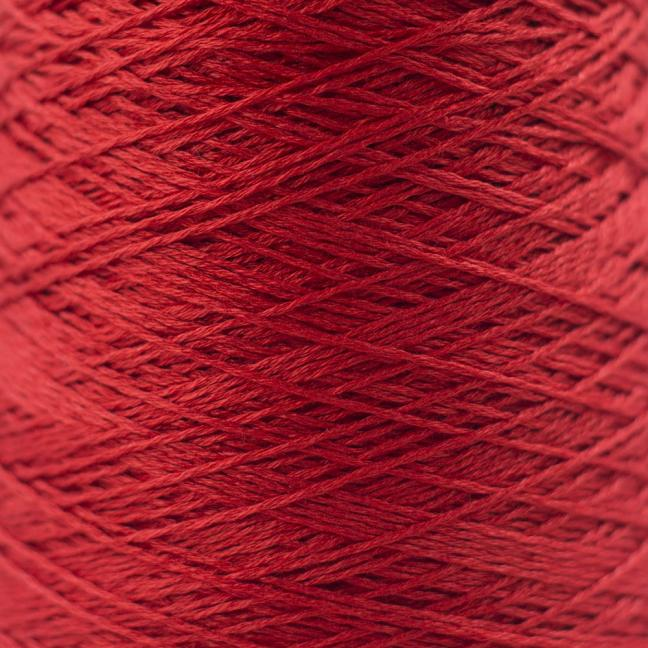 BC Garn Luxor mercerized Cotton 8/2 200g Kone Kirschrot