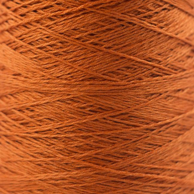 BC Garn Luxor mercerized Cotton 8/2 200g Kone Orange