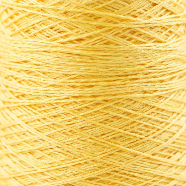 BC Garn Luxor mercerized Cotton 8/2 200g Kone sonnengelb