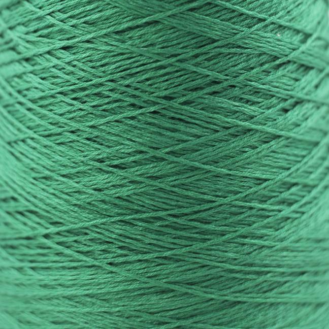 BC Garn Luxor mercerized Cotton 8/2 200g Kone smaragd