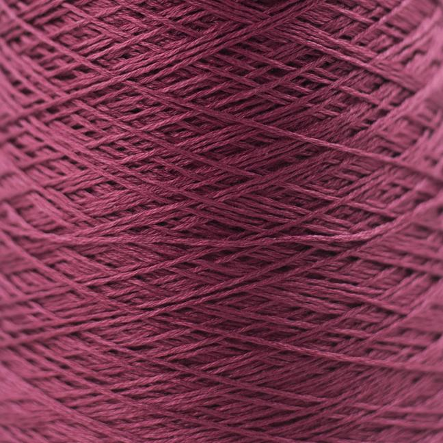 BC Garn Luxor mercerized Cotton 8/2 200g Kone bordeaux