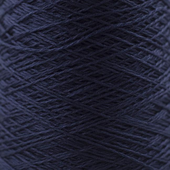 BC Garn Luxor mercerized Cotton 8/2 200g Kone nachtblau