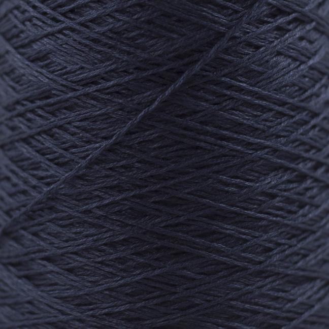 BC Garn Luxor mercerized Cotton 8/2 200g Kone schwarz