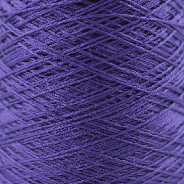 BC Garn Luxor mercerized Cotton 8/2 200g Kone lila