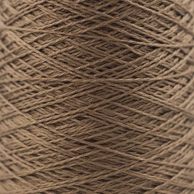 BC Garn Luxor mercerized Cotton 8/2 200g Kone Braun