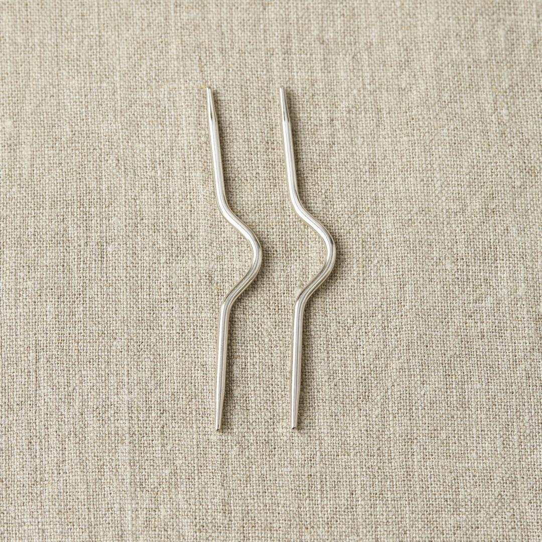 CocoKnits Curved Cable Needle  Curved Cable Needle