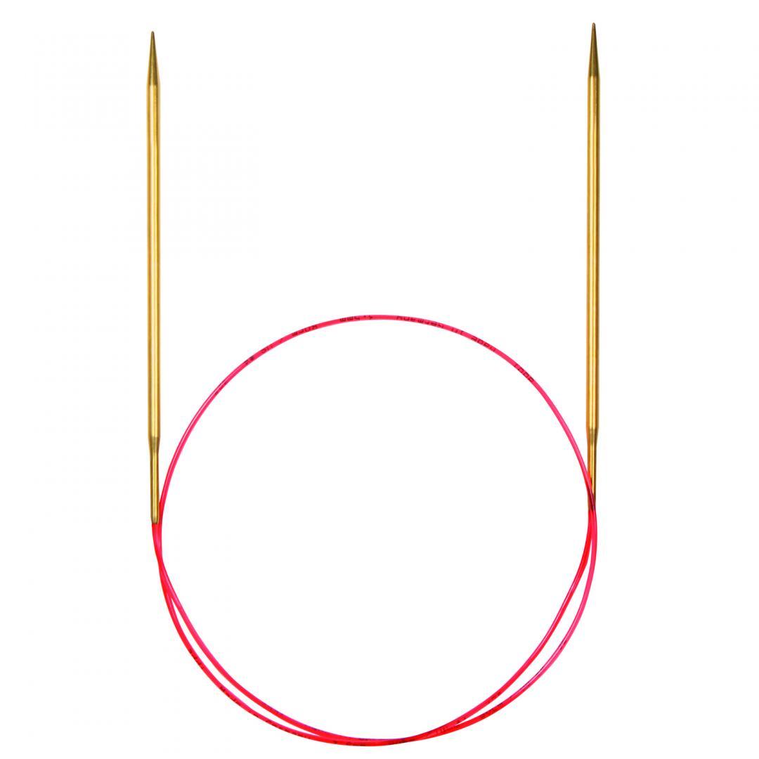 Addi Lace-Rundnadeln 755-7 und 714-7 mit extralangen Spitzen  1,5mm_80cm