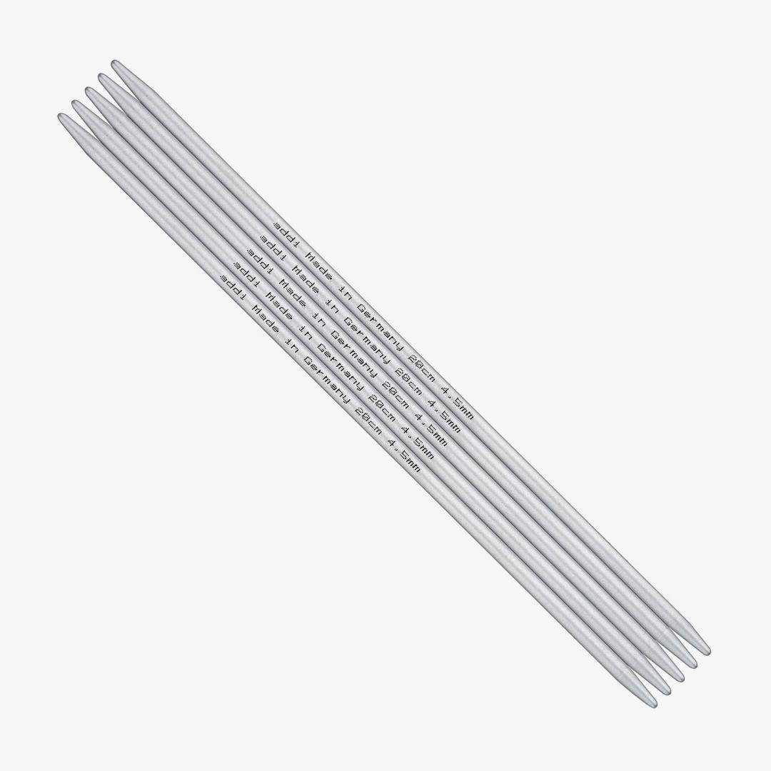 Addi Strumpfstricknadeln 201-7 Aluminium 8mm-23cm