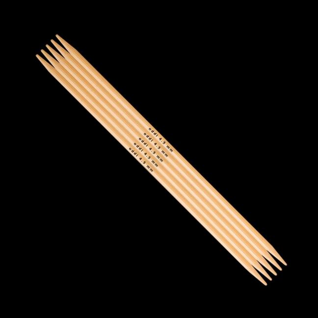 Addi Addi Bambus Strumpfstricknadeln 501-7 6,5mm_15cm