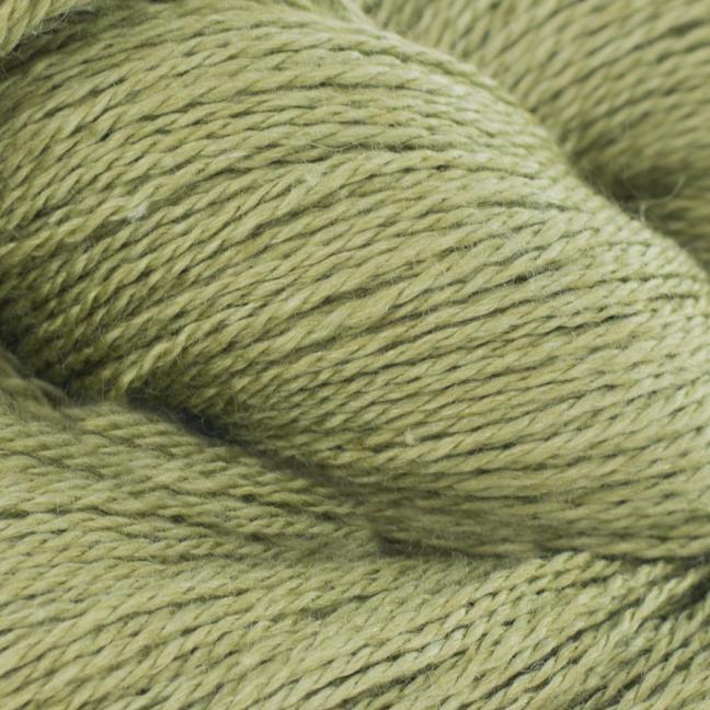 BC Garn Silkbloom Extra Fino auf 250g-Konen  Olivgrün