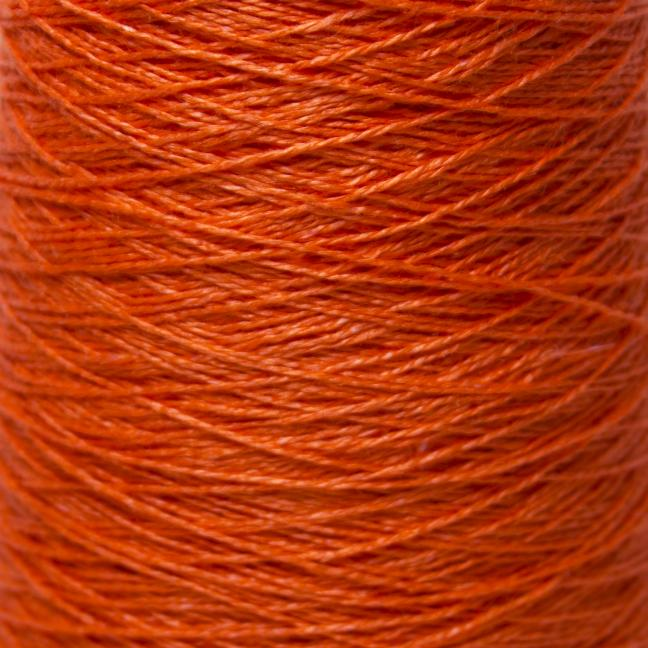 BC Garn Linen 16/2Ne auf 200g Kone Burnt Orange
