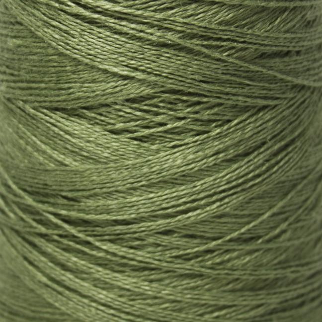 BC Garn Linen 16/2Ne auf 200g Kone Olive