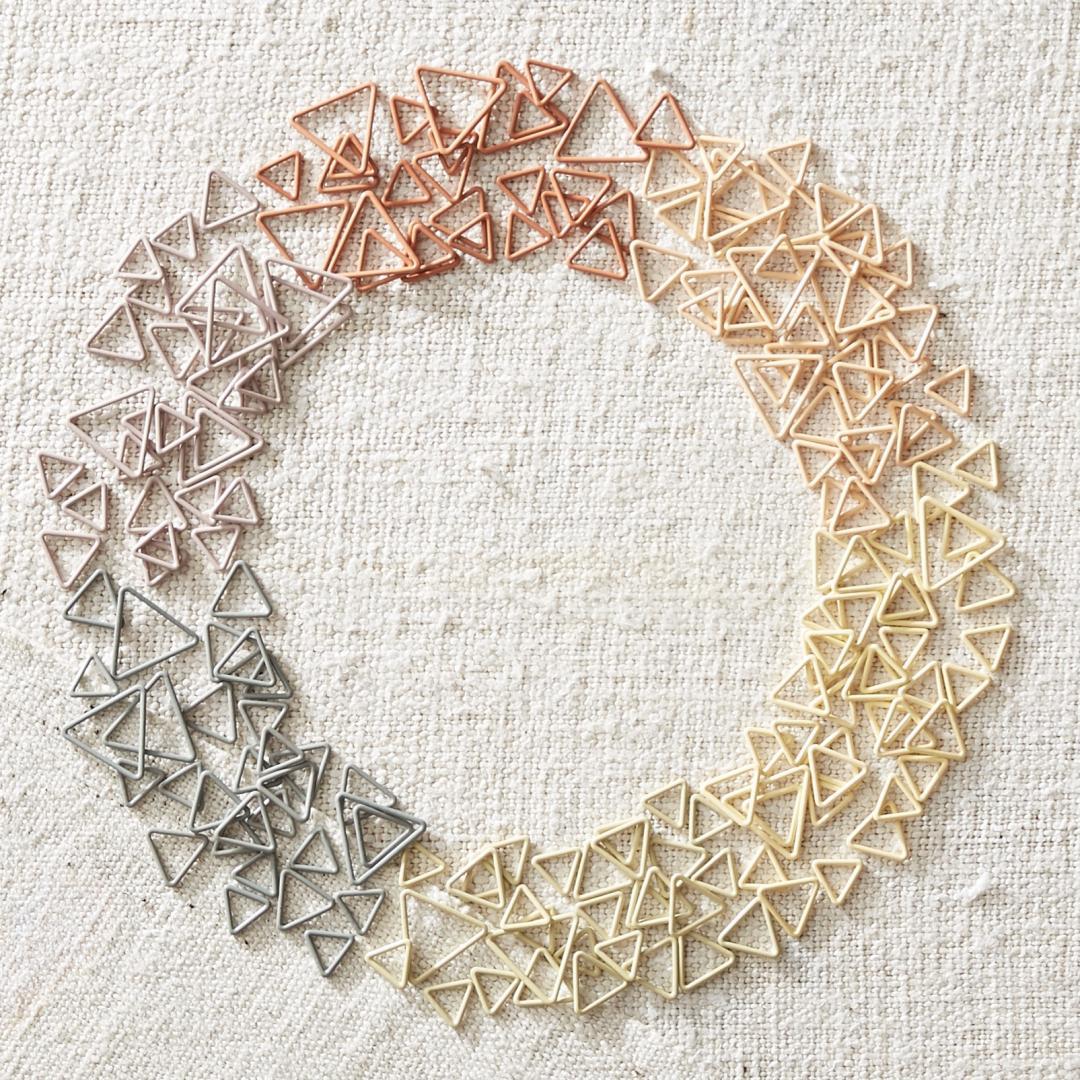 CocoKnits Triangle Stitch Markers  Mix