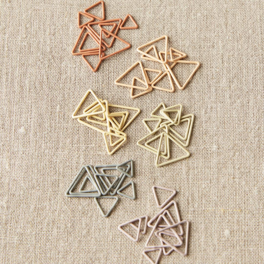 CocoKnits Triangle Stitch Markers  Mix