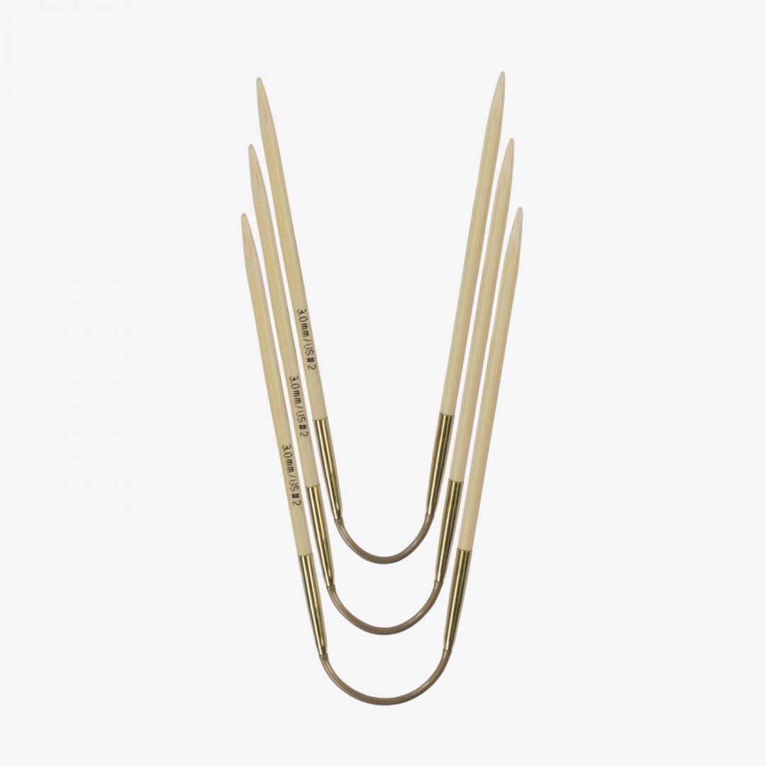 Addi Addi Crazy Trio Bamboo 560-2 Short 2mm