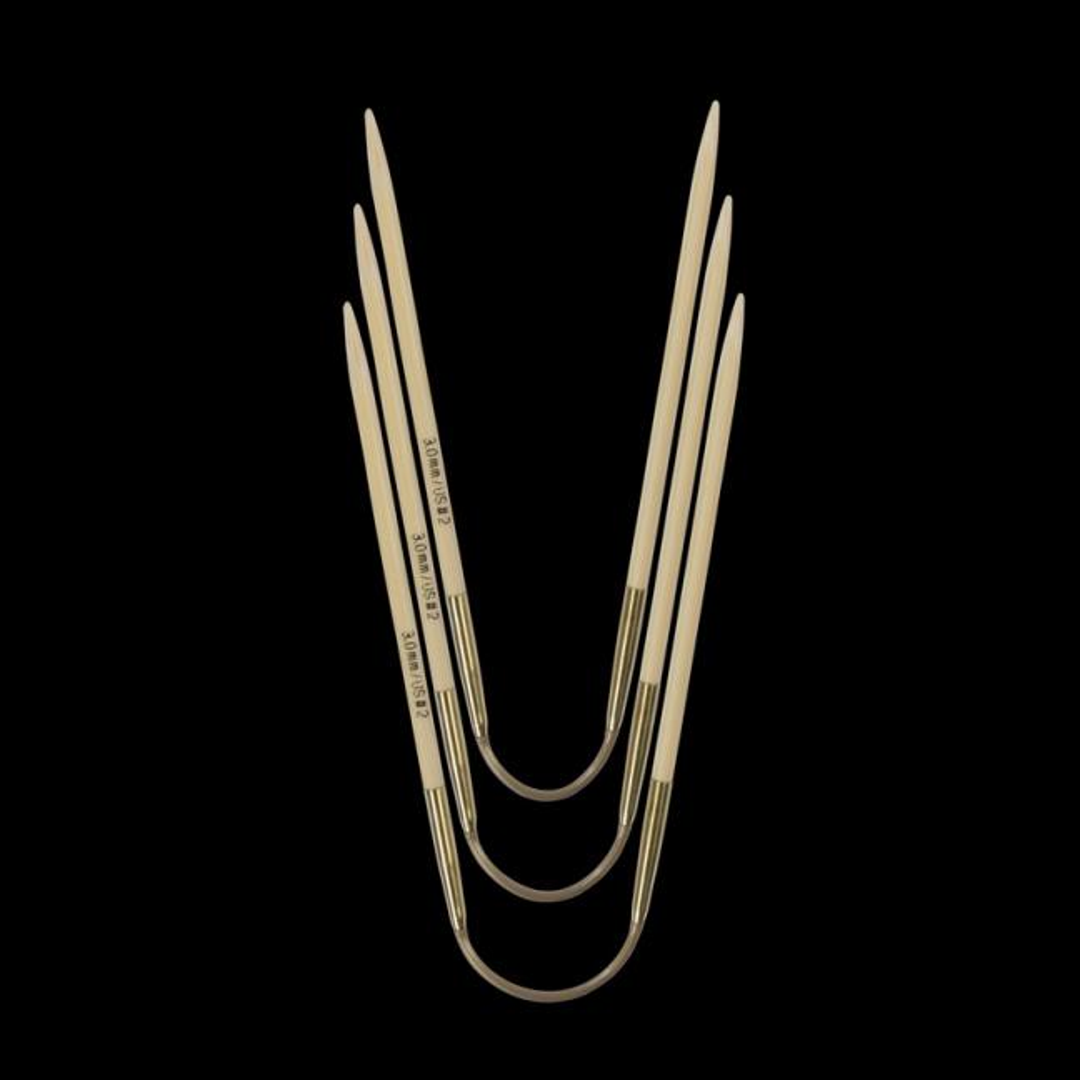 Addi Addi Crazy Trio Bamboo 560-2 Short 3,25mm