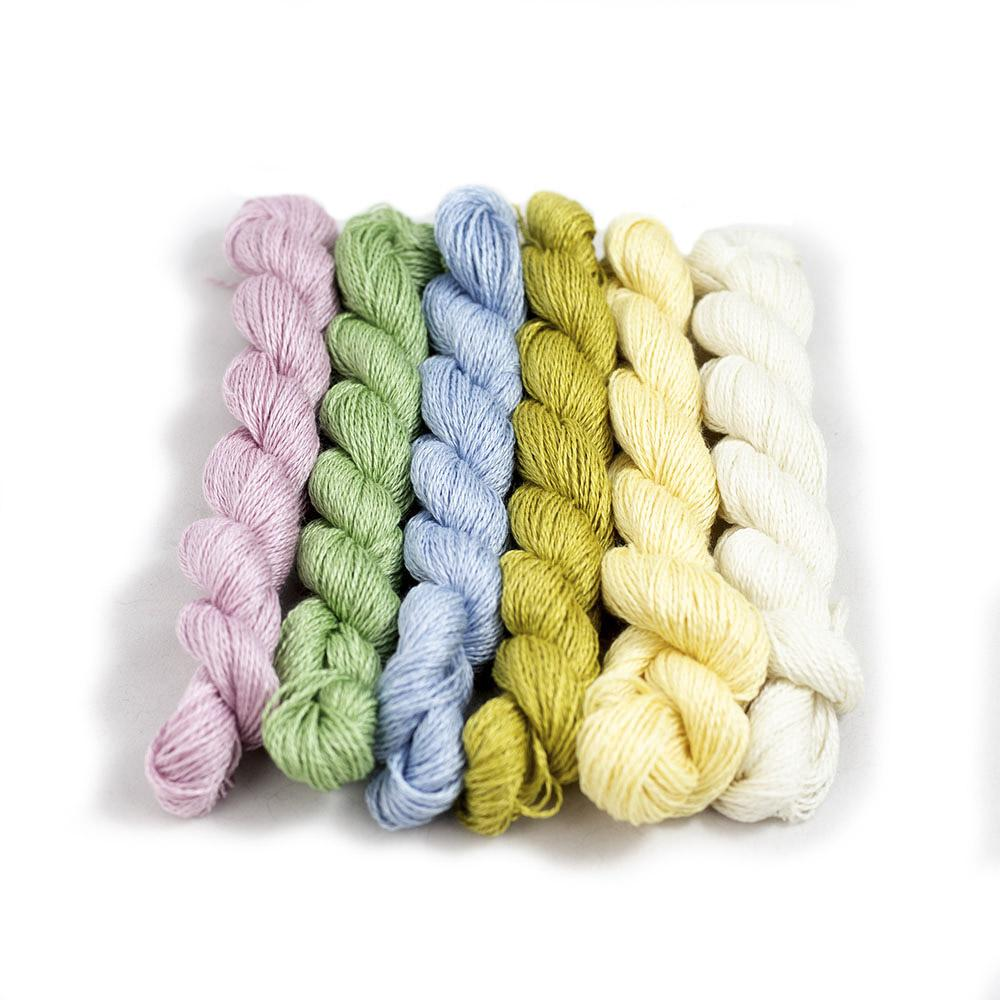 BC Garn Silkbloom Extra Fino Mini Skein Combo  Pastels