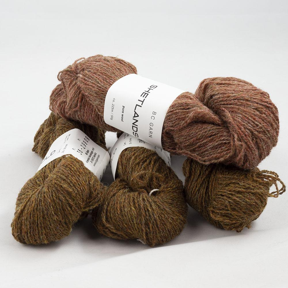 BC Garn Shetland Wool Restepaket 200g