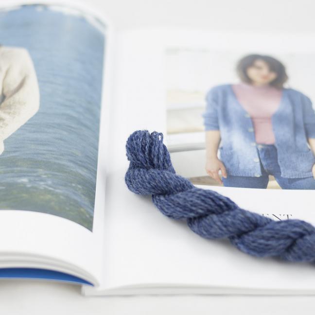 BC Garn AH Kit Kent Cardigan size 1 Jeans
