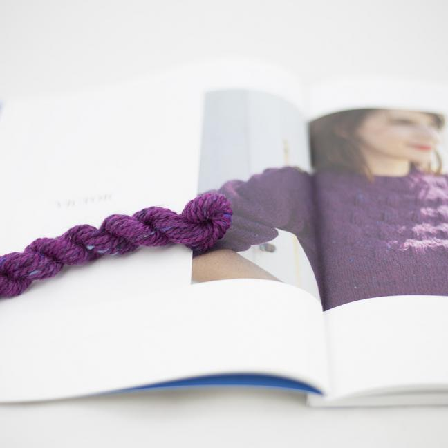 BC Garn AH Kit Victor Sweater Size 1 Cyclam