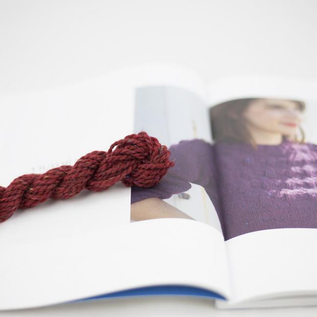 BC Garn AH Kit Victor Sweater Size 1 Red