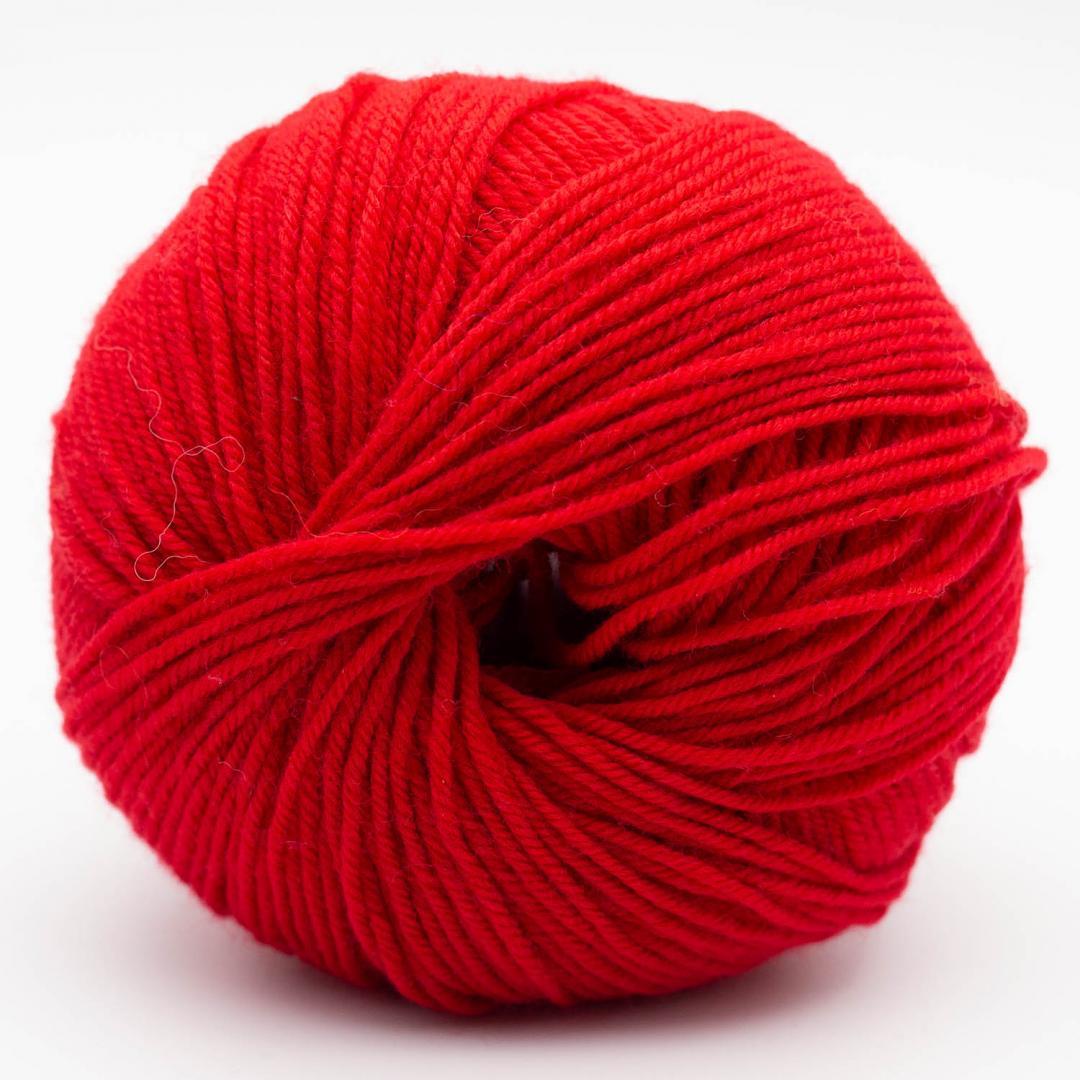 Kremke Soul Wool Bébé Soft Wash Kirschrot