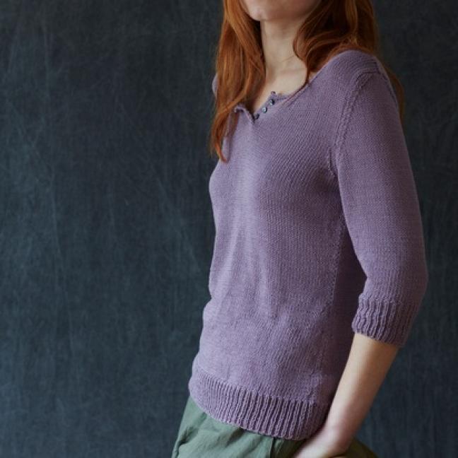 Erika Knight Einzelanleitungen/Patterns Studio Linen Teatime Englisch Studio Linen