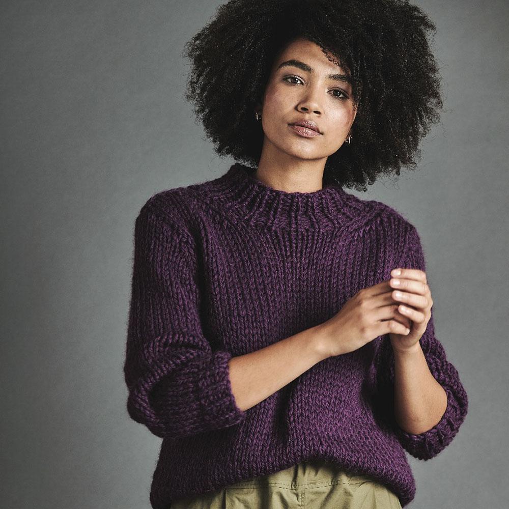 Erika Knight Gedruckte Anleitungen Maxi Wool Passerby ENG