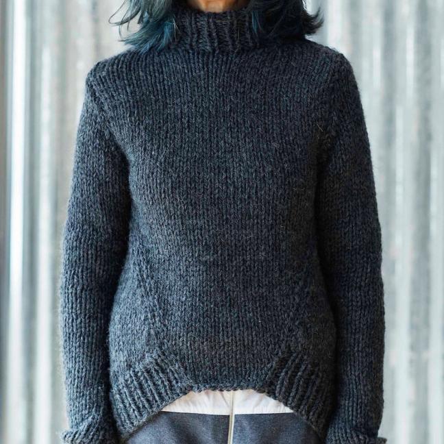 Erika Knight Einzelanleitungen/Patterns Maxi Wool  Maxiwool Five PM Englisch