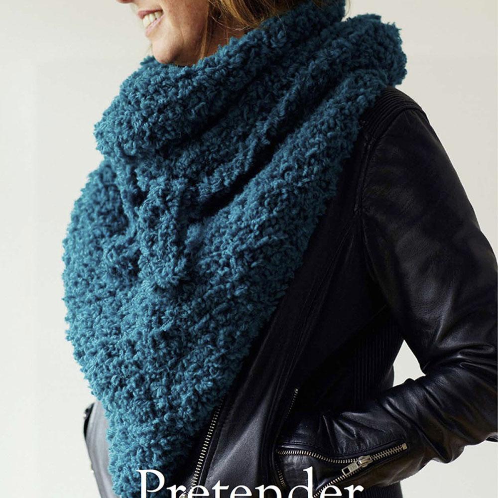Erika Knight Gedruckte Anleitungen Vintage Wool und Fur Wool Pretender Englisch Fur Wool