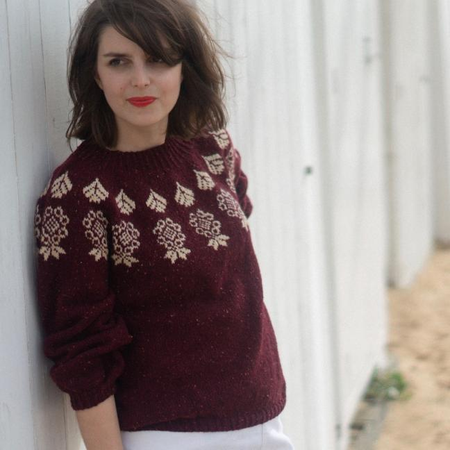 BC Garn AH Kit Boy Scout Sweater Size 2L  Beige