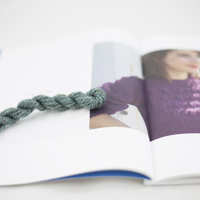 BC Garn AH Kit Victor Sweater Size 4 Aqua