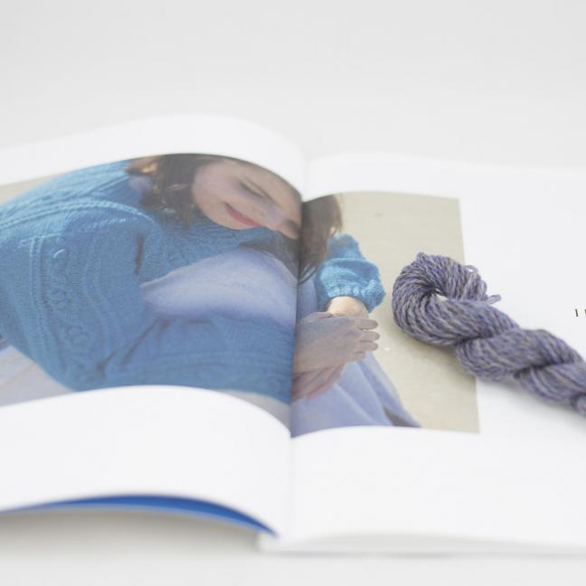 BC Garn AH Kit Hockney Cardigan Size M  Light Purple