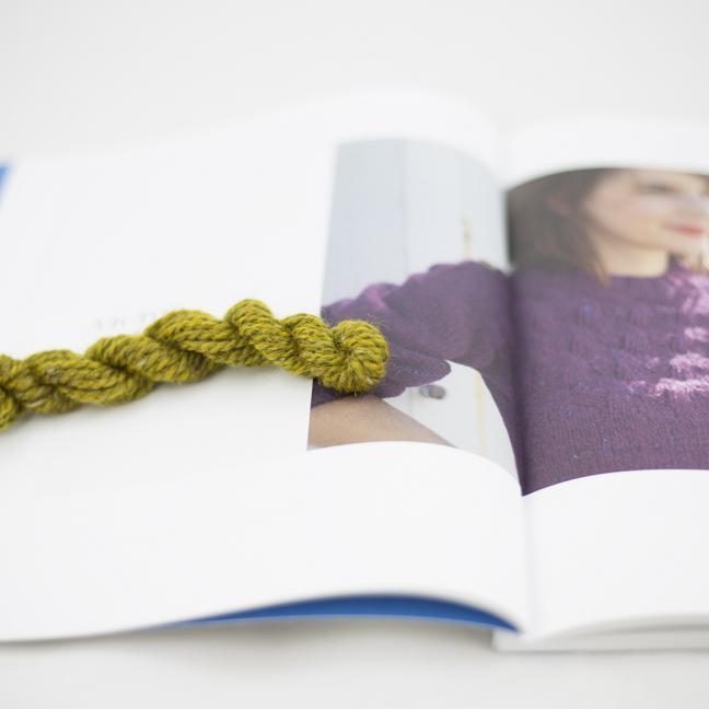 BC Garn AH Kit Victor Sweater Size 5 Brass