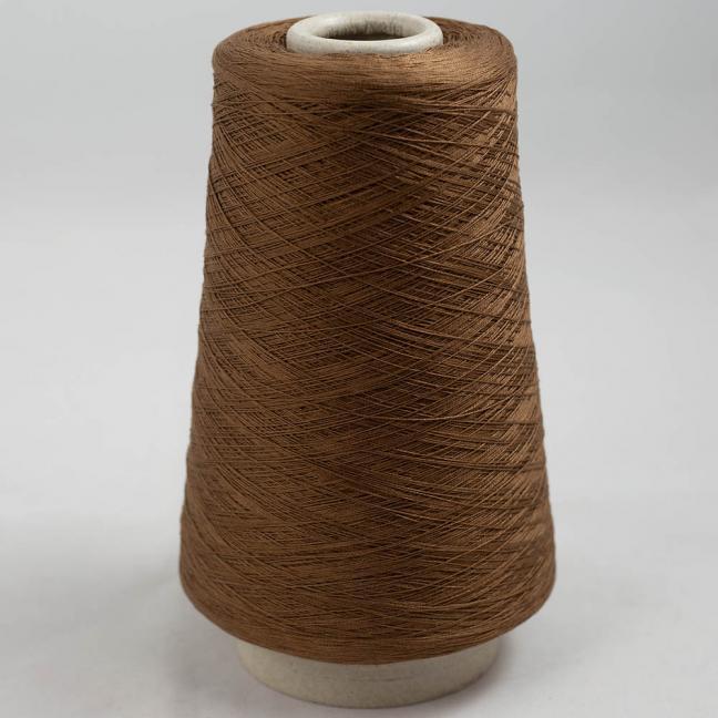 BC Garn Luxor Fino mercerized Cotton 30/2 200g Kone Braun