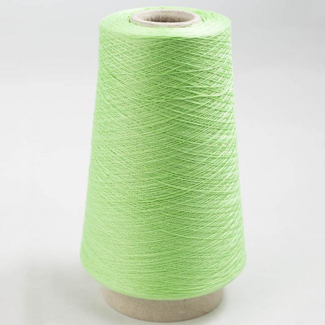 BC Garn Luxor Fino mercerized Cotton 30/2 200g Kone Maigrün