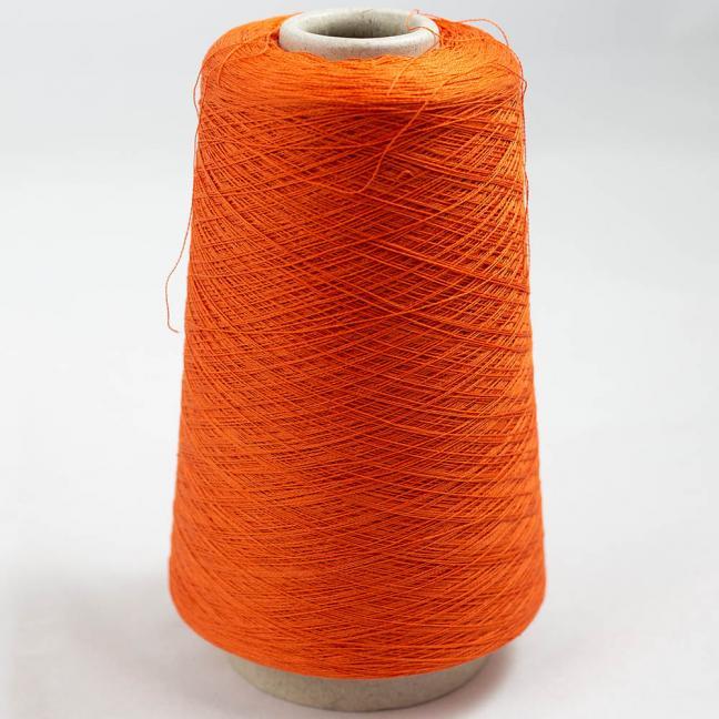 BC Garn Luxor Fino mercerized Cotton 30/2 200g Kone Orange