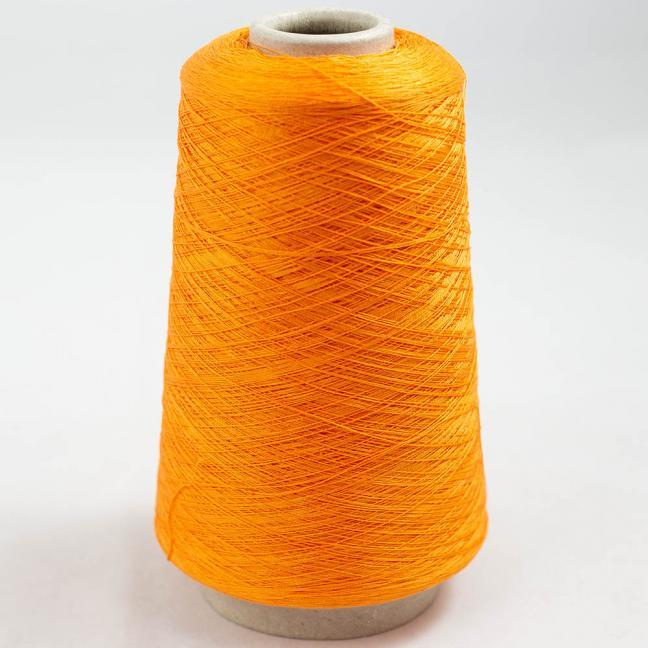 BC Garn Luxor Fino mercerized Cotton 30/2 200g Kone Hellorange