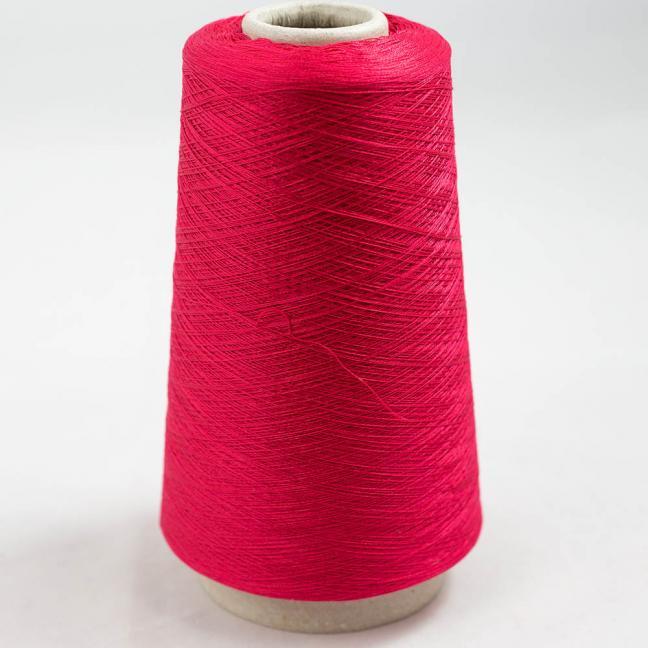 BC Garn Luxor Fino mercerized Cotton 200g Kone Tiefrot