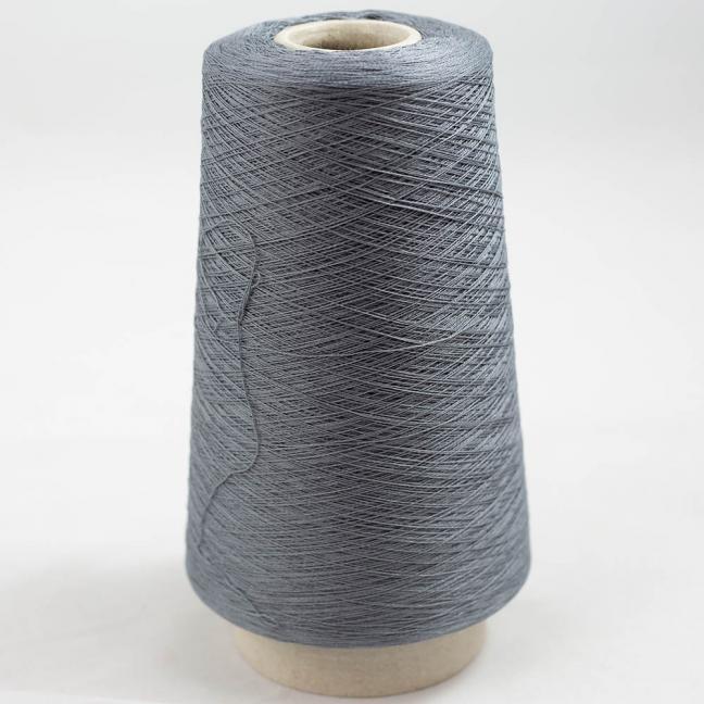 BC Garn Luxor Fino mercerized Cotton 30/2 200g Kone Graphit