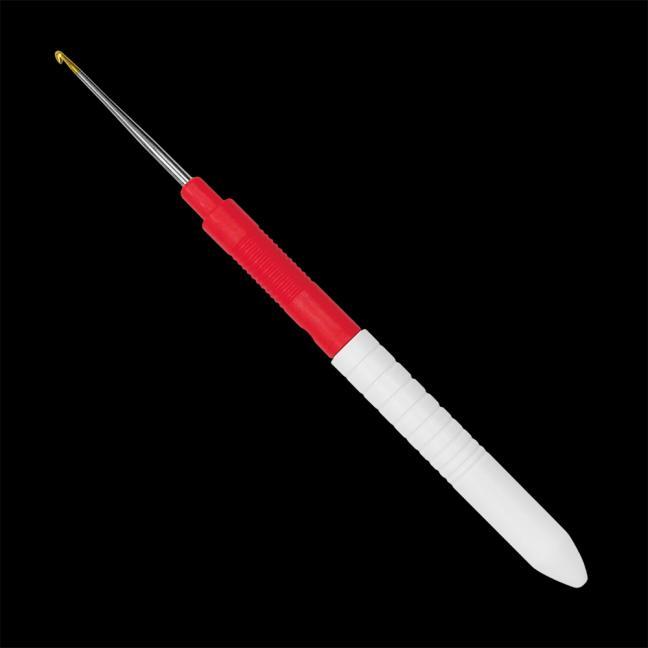 Addi 113-7 ADDI Garnhäkelnadel mit Griff  13cm / 0,5mm