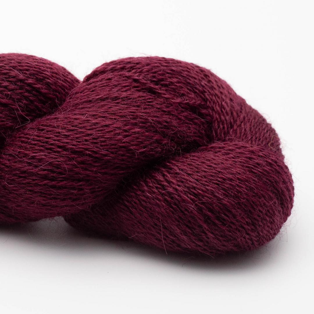 Kremke Soul Wool Babyalpaka Lace Weinrot